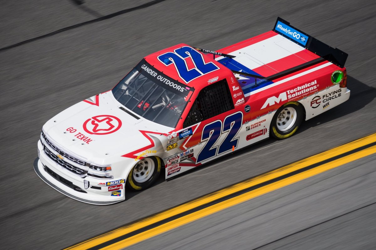Bubba Wallace to Drive No. 22 For AMRacing in Truck Race at Martinsville