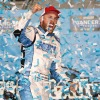 Ross Chastain Crosses the Finish Line First in Gateway Truck Series Race
